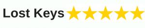 Five stars for Lost keys