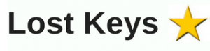 One star for lost keys