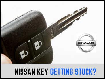 ignition key stuck repair service Nissan Qashqai Note Micra Juke