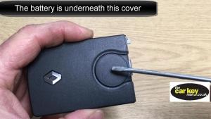 Renault four button keycard