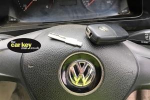 Broken VW Key