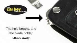 car key blade swap