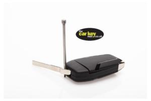 car key blade swap punch in use