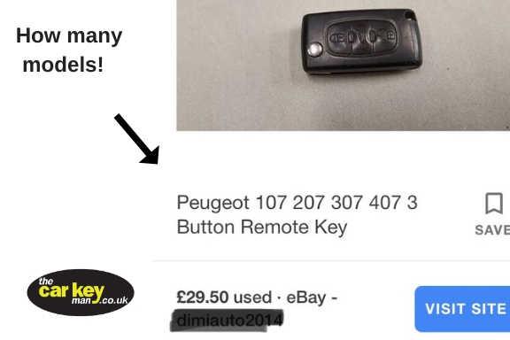 Ebay Car Keys Problems The Car Key Man National