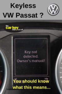 Keyless VW Passat Won't Start